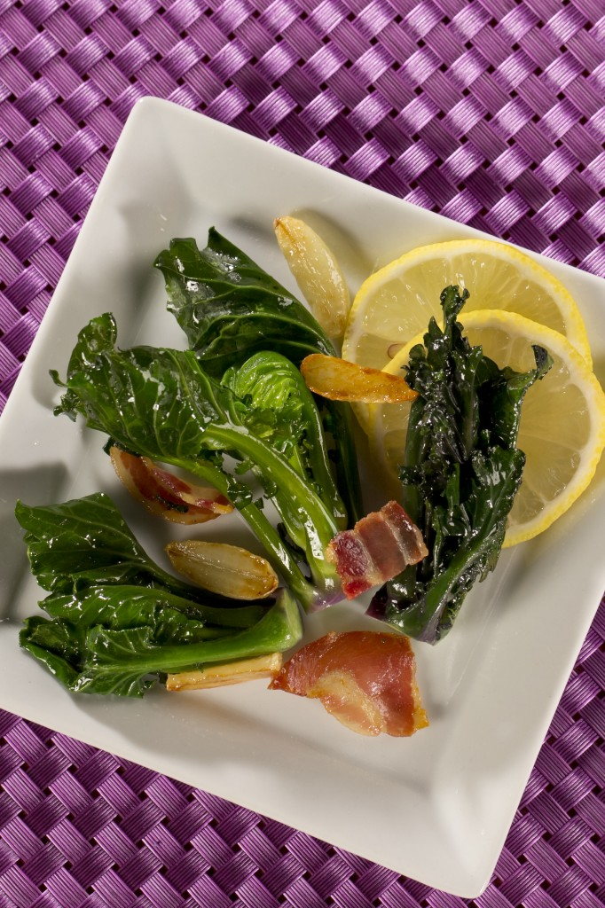 Sauteed Lollipops with Pancetta1
