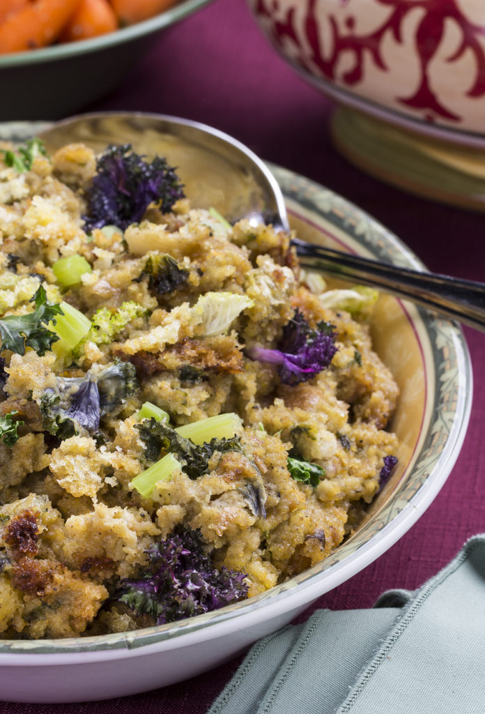 Slow-Cooked Country Cornbread Stuffing